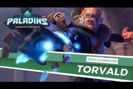Teaser d'un nouveau champion Torvald