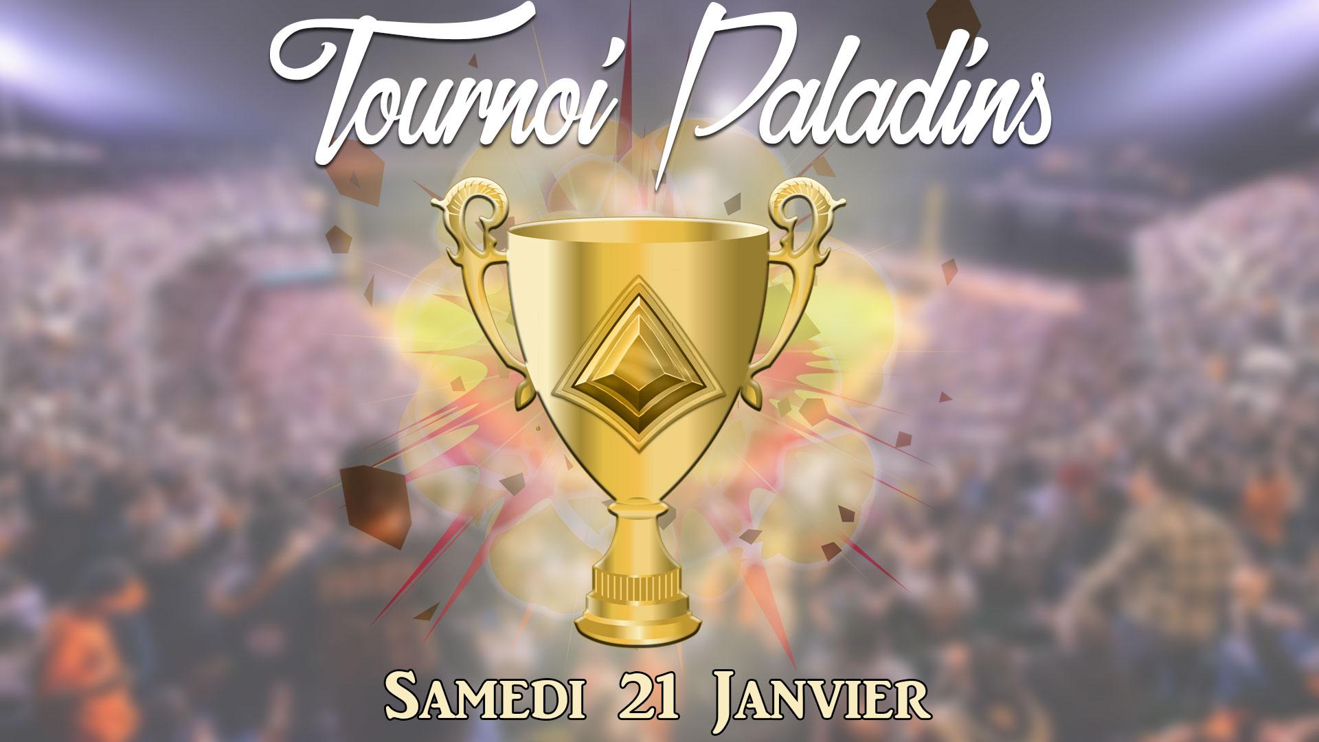 Tournoi Paladins