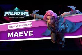 Teaser d'un nouveau champion Maeve