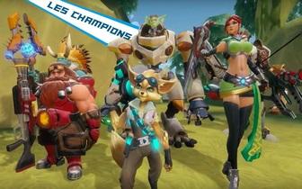 Les champions de Paladins