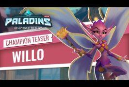 Teaser d'un nouveau champion Willo