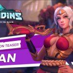 Teaser d'un nouveau champion Lian