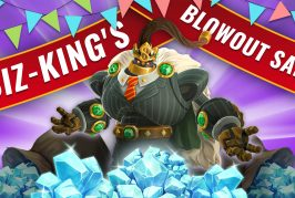 Voici la grande promo de cristaux du Business King !