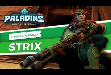 Teaser d'un nouveau champion Strix
