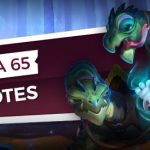 Patch notes de la bêta ouverte 65