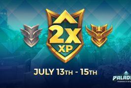 EXP du Battle Pass x2 | 13 – 15 juillet