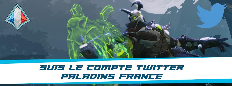 Bannière Twitter Paladins France