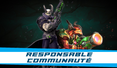 Responsable communauté Paladins France